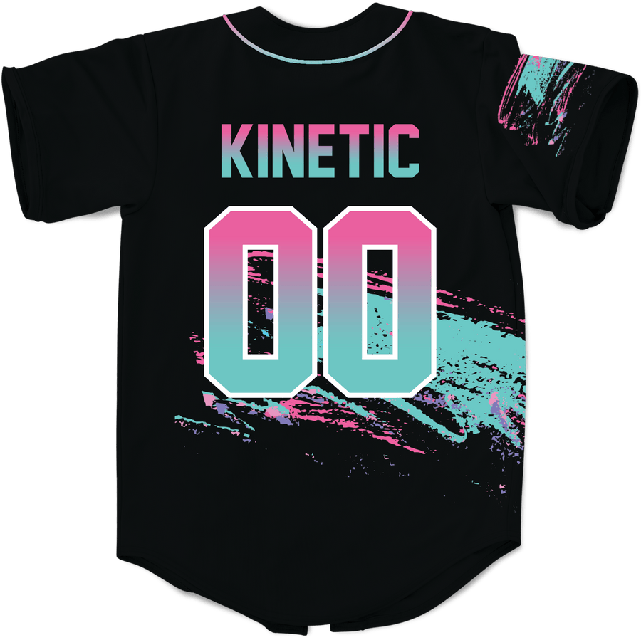 Phi Sigma Kappa - Miami Beach Splash Baseball Jersey - Kinetic Society