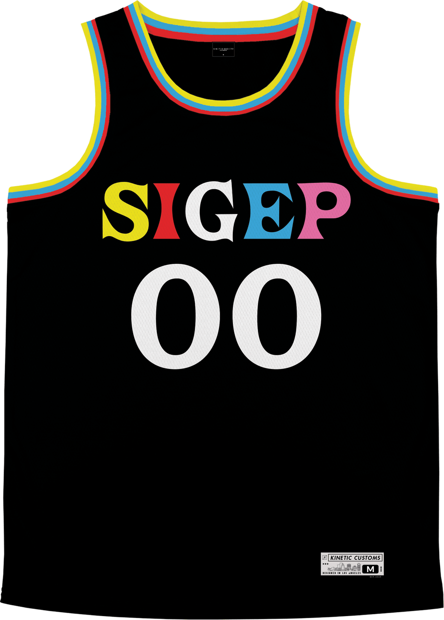 Sigma Phi Epsilon - Crayon House Basketball Jersey - Kinetic Society