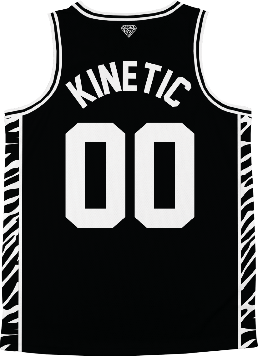 Theta Chi - Zebra Flex Basketball Jersey - Kinetic Society