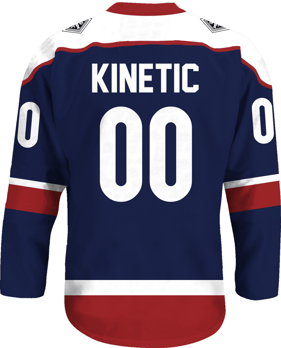 Psi Upsilon - Fame Hockey Jersey - Kinetic Society