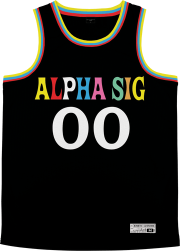 Alpha Sigma Phi - Crayon House Basketball Jersey - Kinetic Society