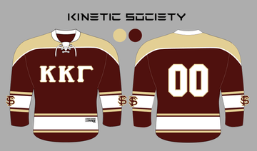 FSU KKΓ - Sublimated Hockey Jersey - Kinetic Society