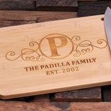Bamboo Cutting Board - The Family - Rion Douglas Gifts - 2