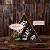 Personalized Beer Cap Wine Cork Holder Shadow Box FREE Bottle Opener and Cork Screw - Rion Douglas Gifts - 8