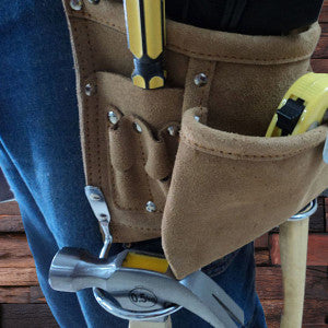 Engraved Suede Complete Tool Belt - Rion Douglas Gifts - 2