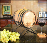 Wine Bar & Bistro Personalized Oak Barrel