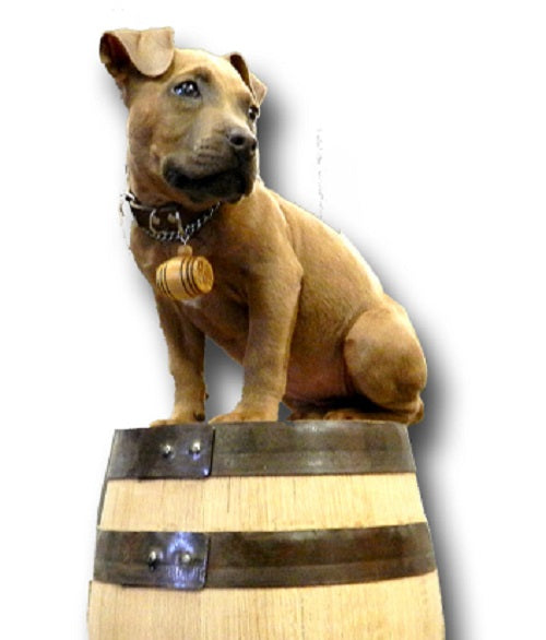 Personalized Mini Barrel Dog Charm