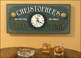 Personalized Tee Time Clock - Rion Douglas Gifts - 2