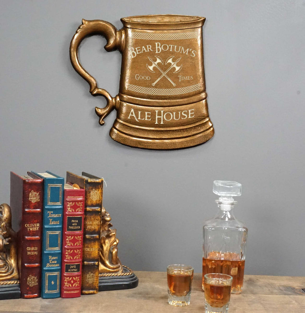Custom Personalized Ale House Tankard Sign