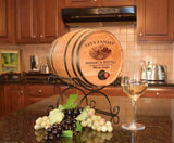 Winery & Bistro Personalized Oak Bag-N-Barrel