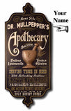 Apothecary - Personalized Dubliner Wood Sign - Rion Douglas Gifts - 3