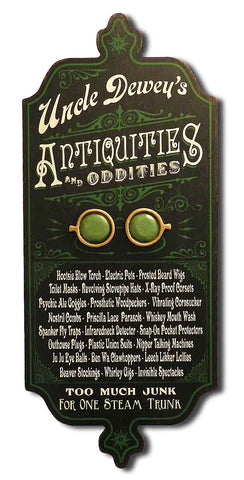 Antiquities & Oddities - Personalized Dubliner Wood Sign - Rion Douglas Gifts - 1