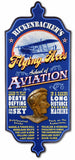 Flying Aces - Personalized Dubliner Wood Sign