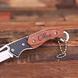 Personalized Nifty Designed Pocket Knife - Rion Douglas Gifts - 2