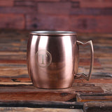 Set of 7 Personalized Moscow Mule Mugs with Beautifully Shaped Handle - Rion Douglas Gifts - 5