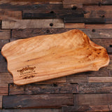 A Personalized Reclaimed Cedar Wood Cutting Chopping Board - Rion Douglas Gifts - 4
