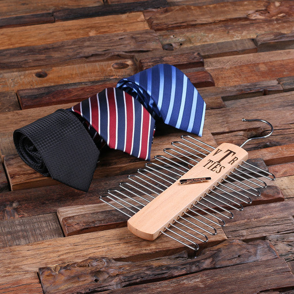 Personalized Deluxe Tie Set