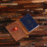 Personalized Engraved Leather Passport Holder, Travel Wallet, Passport Case, Document Wallet - Rion Douglas Gifts - 2