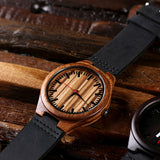 Personalized Wood Watch with or without Engraved or Printed Wood Box - Rion Douglas Gifts - 4