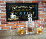 Dentist Personalized Bar Occupational Business Mirror Sign