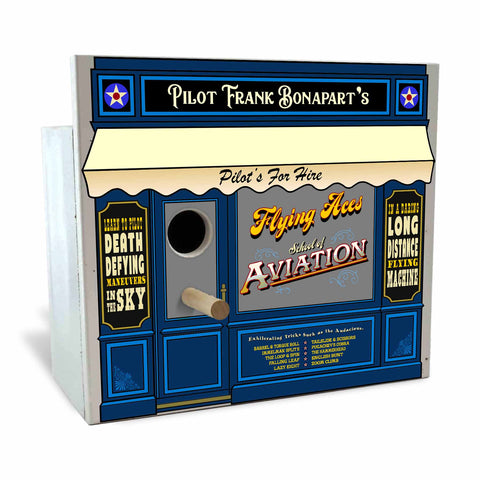 Personalized Birdhouse Bird House - Pilot