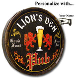 English Pub - Personalized Quarter Barrel Sign - Rion Douglas Gifts - 3