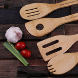 4pc Wooden Utensil Set - Rion Douglas Gifts - 3
