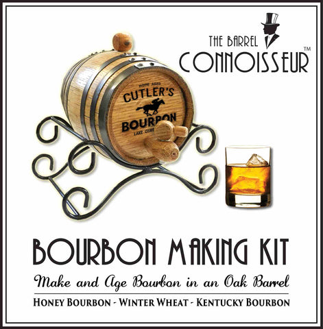 Personalized Barrel Connoisseur® Bourbon Making Kit