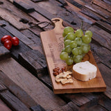 A Personalized Bread & Cheese Bamboo Cutting Board - Rion Douglas Gifts - 4