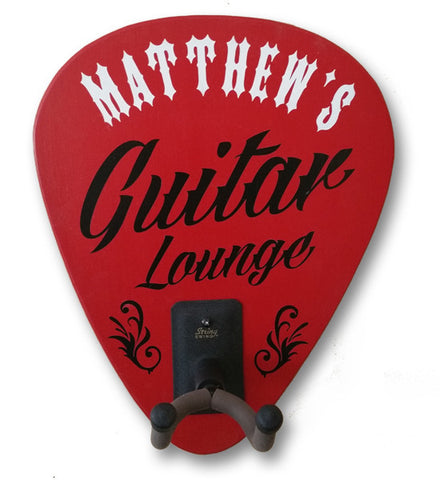 Guitar Lounge Personalized Guitar Holder - Rion Douglas Gifts - 1