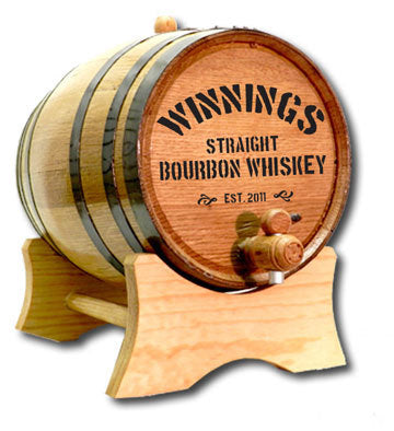 Distillery Personalized Oak Barrel