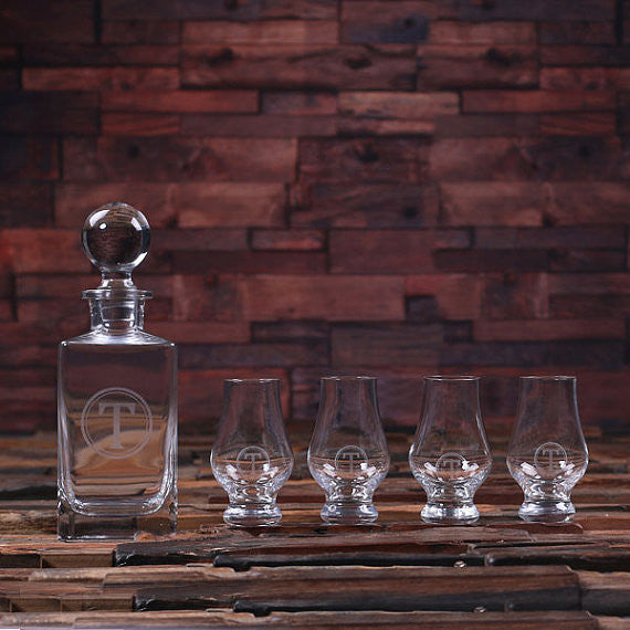 Personalized Decanter with Snifters