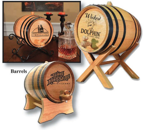 Custom Art Barrel