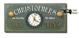 Personalized Tee Time Clock - Rion Douglas Gifts - 3