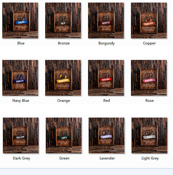 Personalized Large Beer Cap Holder Shadow Box with FREE Bottle Opener - Rion Douglas Gifts - 6
