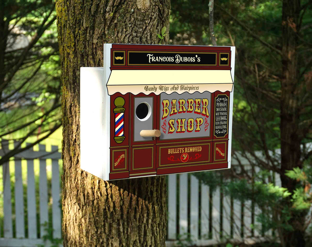 Personalized Birdhouse Bird House Outdoor