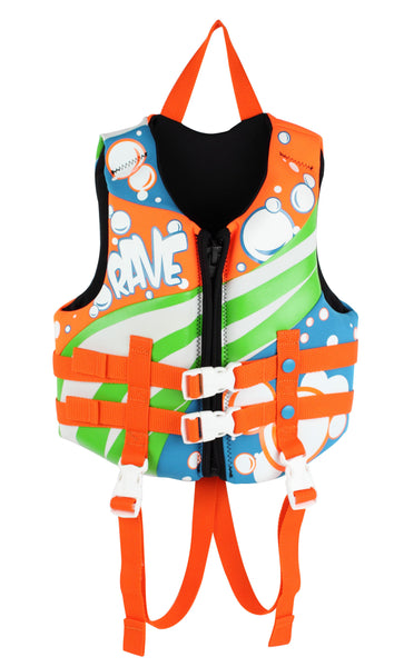 Rave Sports Childs Neoprene Life Vest - Paddleboard & Surf