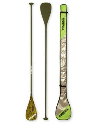 "PUAKEA Carbon Fiber SUP Paddle Catch 22 8"" Blade - Includes FREE Paddle Bag - Paddleboard & Surf"