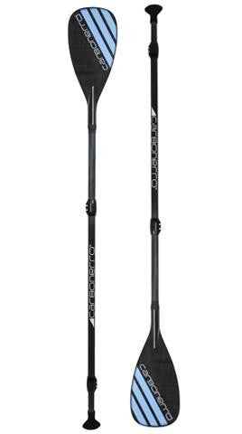 SurfStow Semi-PRO Adjustable Fiberglass 3 Piece Travel Paddle - Paddleboard & Surf