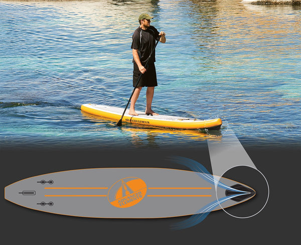 Advanced Elements Fishbone 11' Inflatable Paddle Board - Paddleboard & Surf