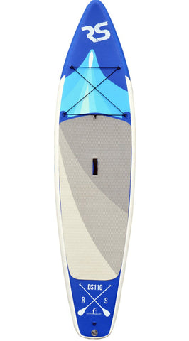 "Rave Sports 11'6"" Nomad Inflatable Paddle Board - Includes Backpack and Pump - Paddleboard & Surf"