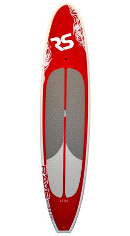 "Rave Sports 11'6"" Cruiser Paddle Board - 3 Beautiful Colors Available - Paddleboard & Surf"