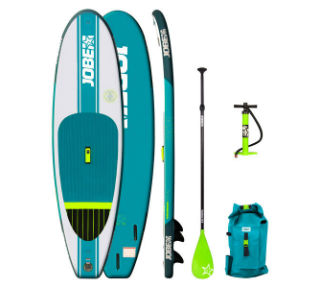 "Jobe Lika 9'4"" Inflatable Paddle Board Package - Paddleboard & Surf"