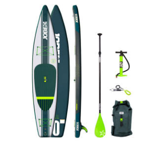"Jobe Neva 12'6"" Inflatable Paddle Board Package - Paddleboard & Surf"
