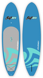 "SUP ATX 10'6"" JOURNEY Paddle Board with 2 Piece Adjustable Paddle - 6 Colors to Choose From - Paddleboard & Surf"