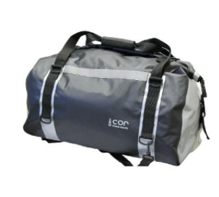 COR Surf Waterproof Roll Top Duffle Bag - 60L - Available in Green and Grey - Paddleboard & Surf
