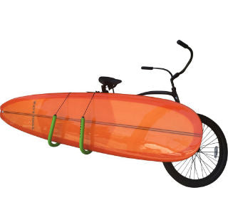 COR Surf Longboard Transport Bicycle Rack - Paddleboard & Surf