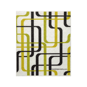 Modern Lines One Swedish Dishcloth