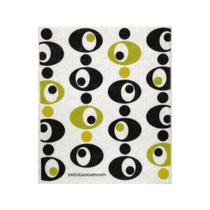 Modern Circles One Swedish Dishcloth