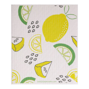 Swedish Dishcloth (Lemon Lime) Single Paper Towel Replacement | Swededishcloths